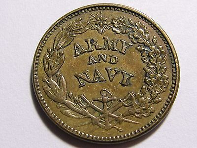 The Federal Union  Army Navy CWT Civil War Token