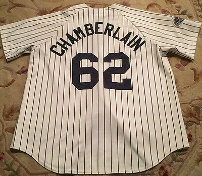 a856809bc24 New York Yankees Chamberlain  62 Baseball Jersey All-Star Game 2008 NYC  Patch