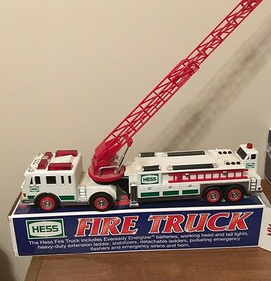 2000 Hess Fire Truck Previously Displayed