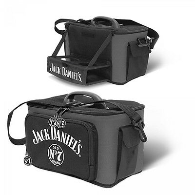 Jack Daniel's Cooler Bag with Pull Down Drink Tray | Lunch Box | Drink Holder