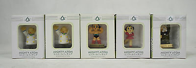 Astro Boy Mighty Atom Mini Doll Figure Lot of 5 Tezuka Japan New