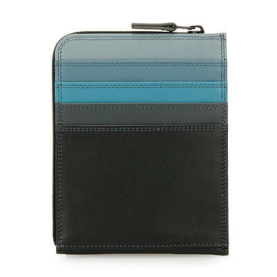 Mywalit Leather Zip Around Credit Card Holder / Wallet Style 114