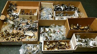 Lock Lot, Desk,Cabinet,Door,Drawer,Locker,Keys,Vintage,Brass,Cam,Cylinders,Cores