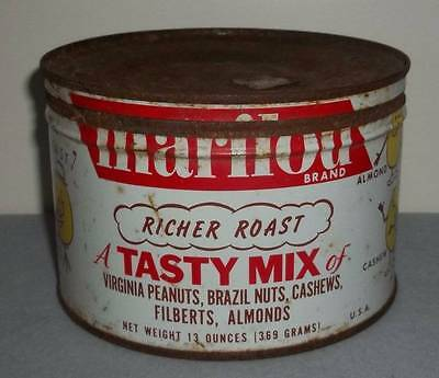 Vintage Marilou Brand Mixed Nut Tin ~ Lady Anne Fine Foods Co.