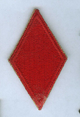 Ww2 Us Army 5Th Infantry Division Snow Back Cut Edge Ssi Patch Insignia Wwii
