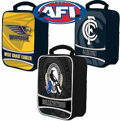 AFL Team Logo Cooler Bags | Lunch Box | Team Colours with Team Logo