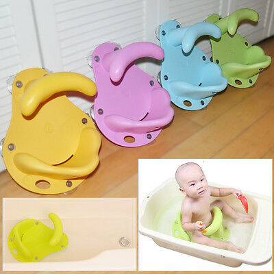 Baby Infant Toddler Bath Seat Tub Bathing Supprot Anti Slip Safety Chair Mat Pad