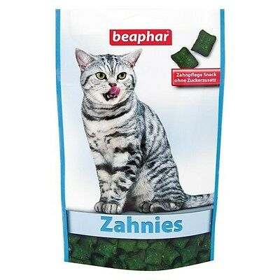 Beaphar Zahnies 150 g, Snack pour chats, NEUF