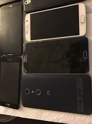 Group Of 10 Smart Phones ,including Note 5, Galaxy S6 And More