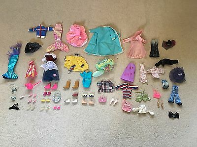 Sindy and Barbie vintage clothes collection with some rare items