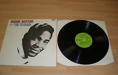 "Brooke Benton 12"" Vinyl Album Sings The Standards Rca Ints 5085 1981 Ex """