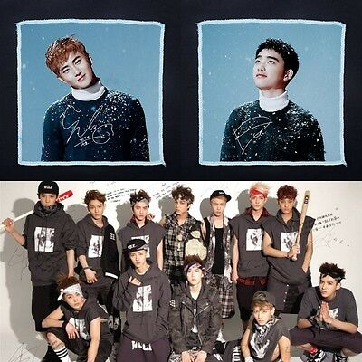 New KPOP EXO Soft Soothing Cotton Face Towel / Cleaning Wash Cloth Hand Towel