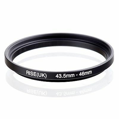 RISE(UK)  43.5-46MM 43.5 MM- 46 MM Matel Step Up Ring Filter Camera Adapter