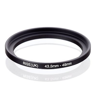 RISE(UK) 43.5-49MM 43.5 MM- 49 MM Matel Step Up Ring Filter Camera Lens Adapter