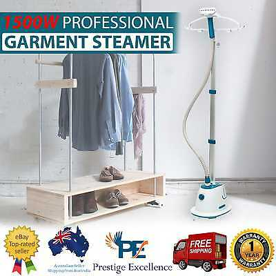 Commercial Clothes Garment Steamer Professional Steam Iron Brush Press Valet New