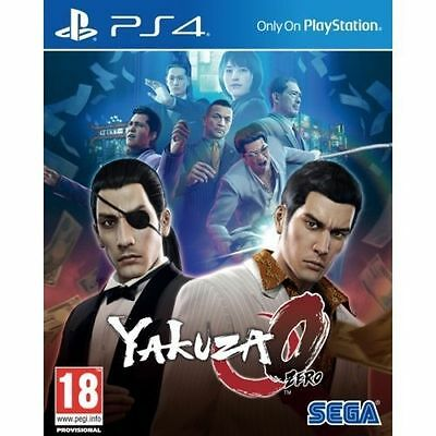 Yakuza 0 Playstation 4 (PS4) Game SEGA Brand New In Stock From Brisbane