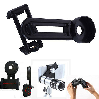 Universal Stand Spotting Scopes Telescope Mount Adapter for Phone Camera NEW