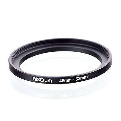 RISE(UK) 46-52mm 46-52 Matel Stepping-Up Ring Filter Adapter 46-52