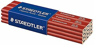 Staedtler 148 40 - Medium Carpenters Pencil - Packs of 6 or 12