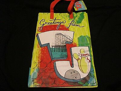 TRADER JOE'S  Shopping Bag Grocery  REUSABLE `NEW JERSEY RARE
