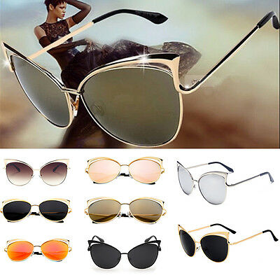 Fashion Cat Eye Sunglasses Classic Designer Women Retro Shades Eyewear A