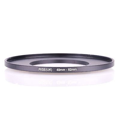 RISE(UK) 49-82 MM 49 MM- 82 MM 49 to 82 Step Up Ring Filter Adapter