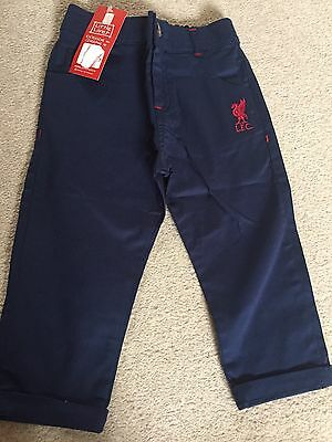 BNWT Toddler Boys Liverpool FC Chinos Size 18-23 Months
