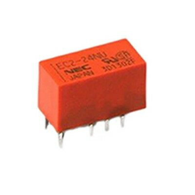 DPDT Through Hole Latching Relay 5V DC 2A