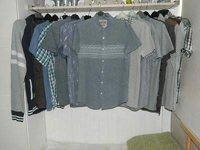 Mens Clothing Bundle x14 - Casual Polo Shirt/T-Shirts New Look etc. Small
