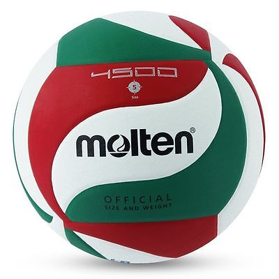 Volleyball Ball Indoor Outdoor Volley Game Official Size V5 Molten M4500 Leather