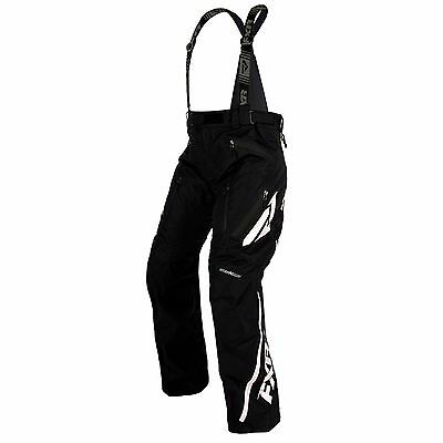 Fxr Mission Lite Pants Snowmobile  Sled Snowboarding- Black- White Uninsulated