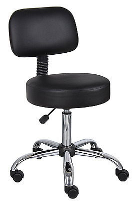 Adjustable Drafting Stool Medical Office Chairs With Cushions Furniture Black