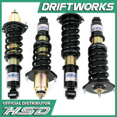 HSD DualTech Coilovers for Mazda MX5 Mk1 & 2. NA & NB 1989-2005 - New 2017 Versi