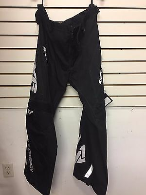 Fxr Cold Cross Race Ready Pants Snowmobile  Sled Snowboarding- Black/white
