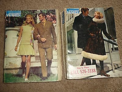 2 Montgomery Wards 1970 Spring & Summer, Fall & Winter Department Store Catalogs