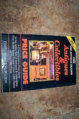 Identification/price Guide Book On Antique Traders Collectibilies