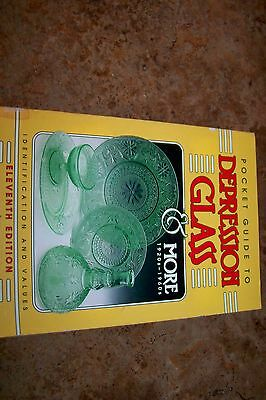 Identification/price Guide Book On Depression Glass #3