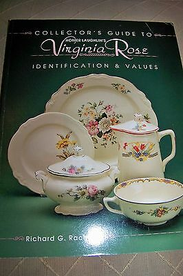 Identification/price Guide Book On Homer Laughlin Virgina Rose Collectbles