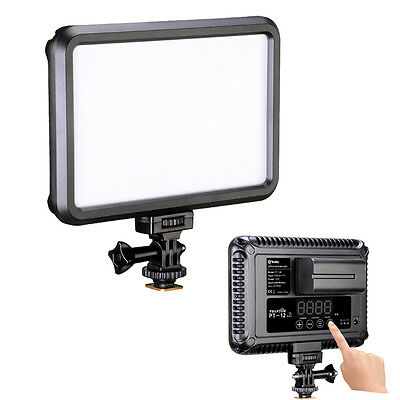 PT-12B Touch Control Bi-Color Dimming LED Video Photo Light for DSLR Camcorder