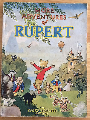 RUPERT ORIGINAL ANNUAL 1947 Neat inscription Not Price Clipped VG