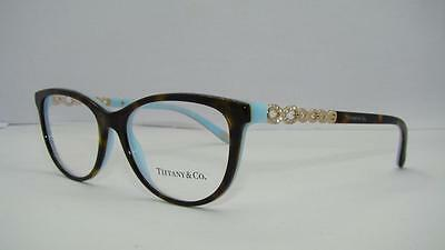 Tiffany & Co 2120 8134 Havana & Blue Glasses Frames Eyeglasses Size 51