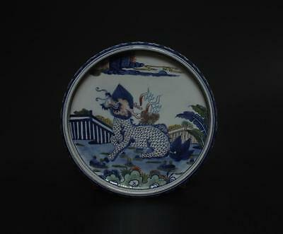 Perfect Antique Chinese Porcelain Famille-Rose Brush Washer s140