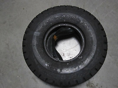 New Supergrip Forklift Tire 6.90-9 Nhs Rim Guard