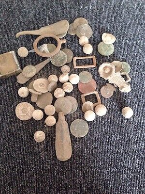 Large Collection Of Metal Detecting Finds Joblot