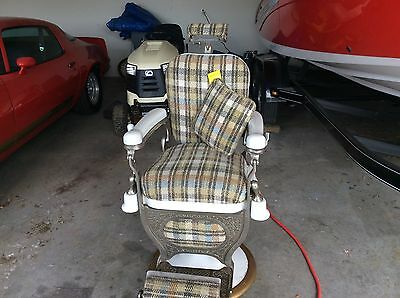 Antique/ Vintage Barber Chair by Theo-A- Kochs Co. Chicago