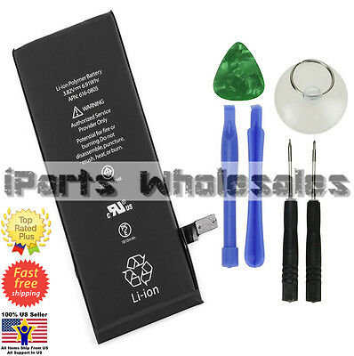 For Apple iPhone 6 Genuine OEM Battery Replacement Kit 1810 mAh