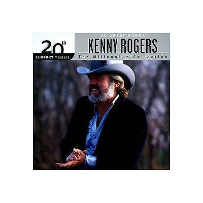 NEW - Millennium Collection - 20th Century Masters by Kenny Rogers