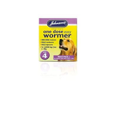 Johnsons One Dose Wormer - Size 4