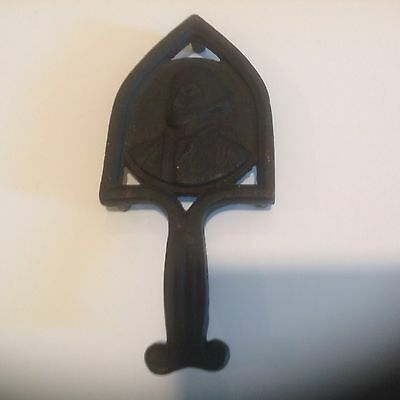 Antique Cast Iron George Washington Trivet