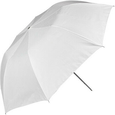 Westcott Umbrella - Collapsible, Optical White Satin - 43""